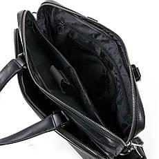 Сумка Мужская Портфель кожаный BRETTON BE 1603-1 черный, фото 3