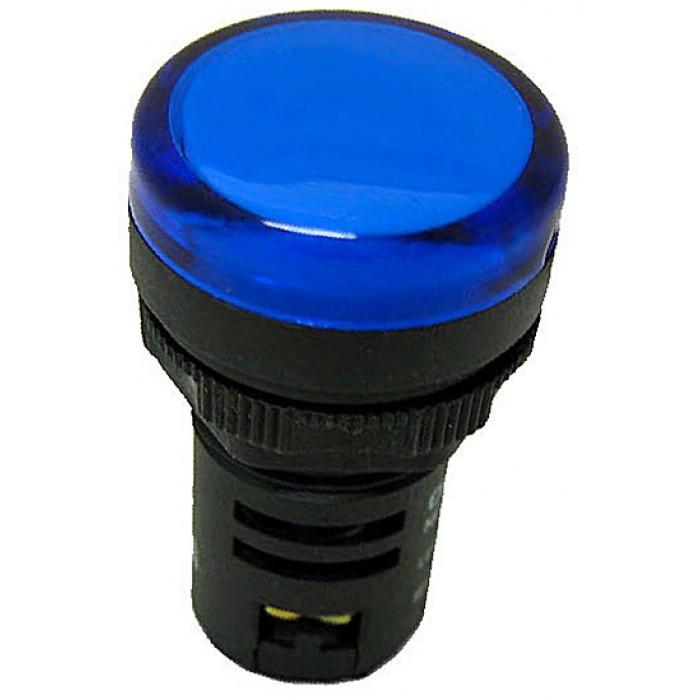 Световой индикатор ND16-22D/2 AC/DC 220V синий СНІNT