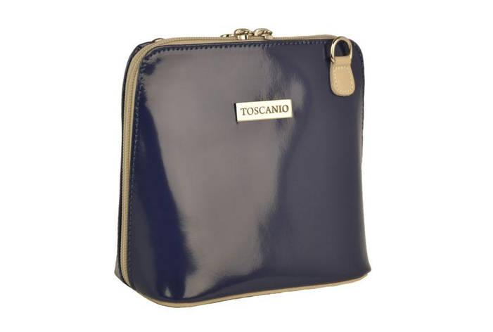 Жіноча шкіряна сумка Toscanio 01L Червоний, фото 2