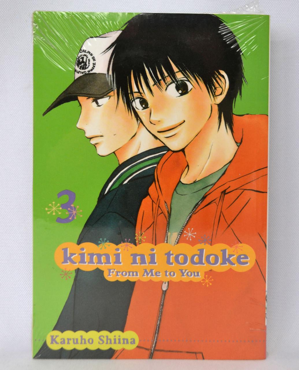 Manga Kimi ni Todoke: From Me to You, Vol. 3 (English language)