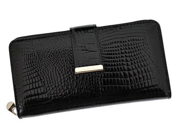 Женский кожаный кошелек Jennifer Jones 5280 Красный, фото 2