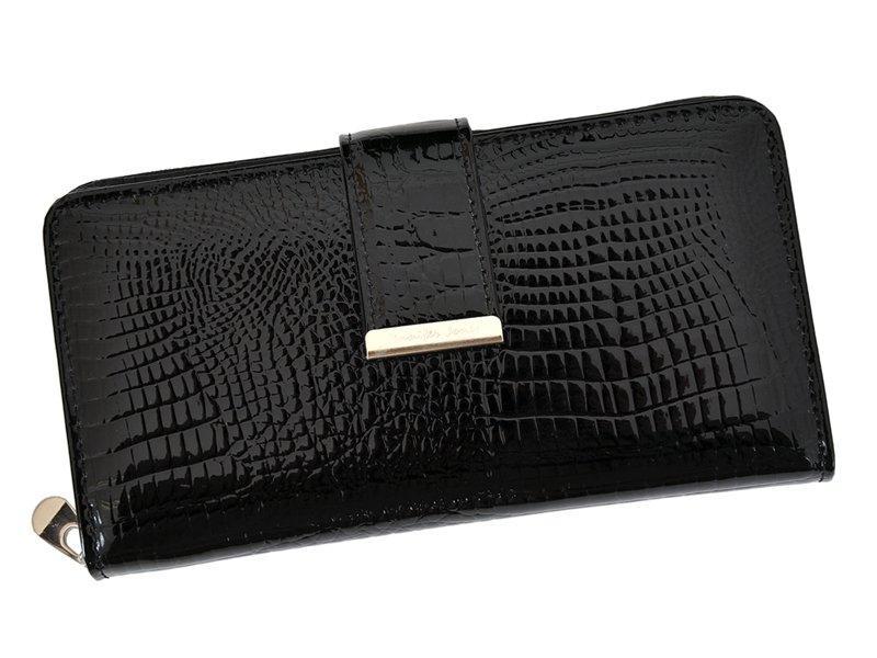 Женский кожаный кошелек Jennifer Jones 5280 Красный