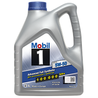 MOBIL 1 FS X1 5W-50 (4л) Синтетичне моторне масло