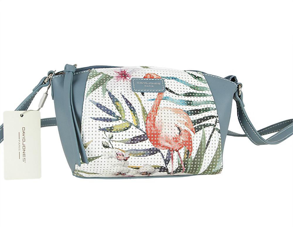 Женская сумка из экокожи David Jones 5923-1A Светло-розовый