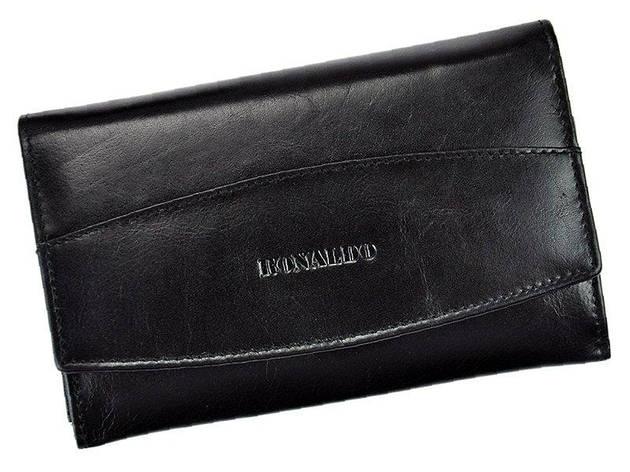 Жіночий шкіряний гаманець Lorenti RD-06-CFL Коричневий, фото 2