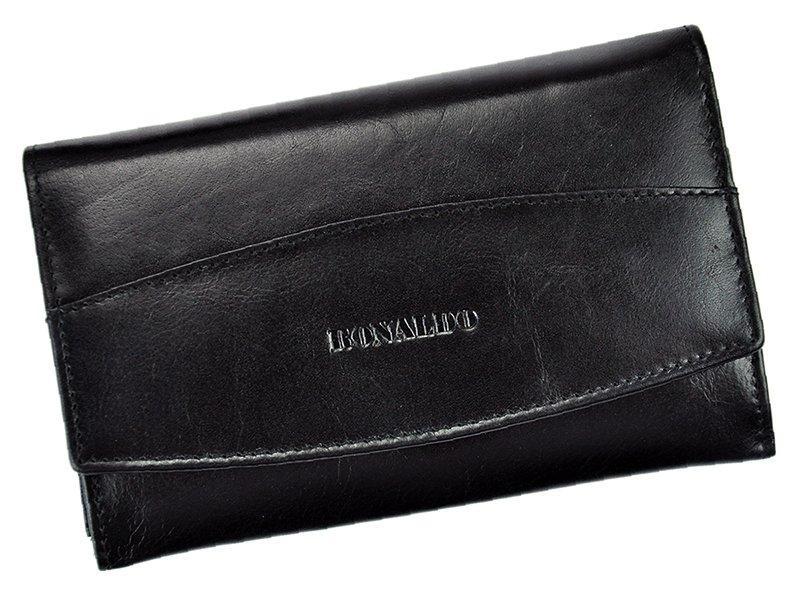 Жіночий шкіряний гаманець Lorenti RD-06-CFL Коричневий