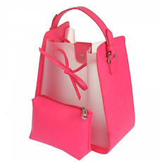 Жіноча сумка з екошкіри Tom & Eva 19G-2560 Білий, фото 3