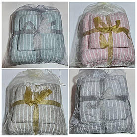 Набор полотенец  Solafa ассорти (микрофибра)