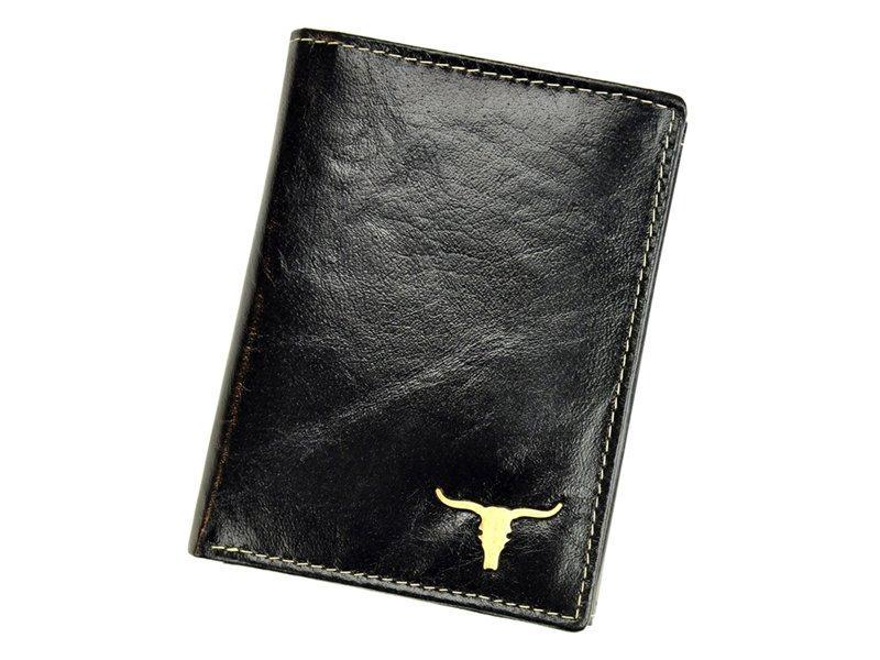 Мужской кожаный кошелек Wild RM-04-BAW BUFFALO Коричневый
