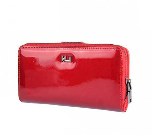 Женский кожаный кошелек Elizabet Canard AR-54168-SH Черный, фото 2