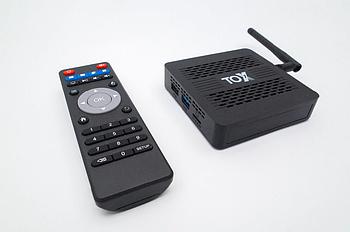 Налаштовані смарт тв приставки TOX1 4/32 ГБ (інтернет тв приставки на андроїд)