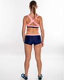 Раздельный спортивный купальник для бассейна Aqua Speed Fiona, топ и шортики, розовый с синим 34, фото 5