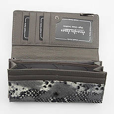 Жіночий шкіряний гаманець Jennifer Jones 5293-5 Чорний, фото 2