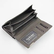 Жіночий шкіряний гаманець Jennifer Jones 5293-5 Чорний, фото 3