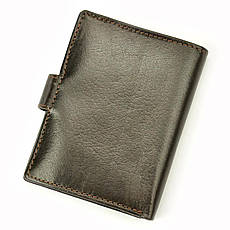 Мужской кожаный кошелек Wild BUFFALO N4L-BWJ RFID Коньяк, фото 3