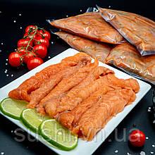 Обрізь спинки лосося слабосолоні крупні 500 г