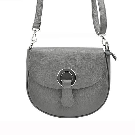 Жіноча шкіряна сумка Patrizia Piu 419-034 Темно-синій, фото 2
