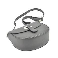 Жіноча шкіряна сумка Patrizia Piu 419-034 Темно-синій, фото 3