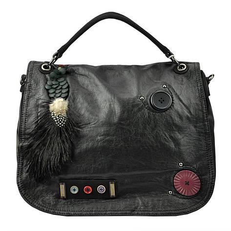 Жіноча сумка з екошкіри Gregorio TB-G19 Вишневий, фото 2