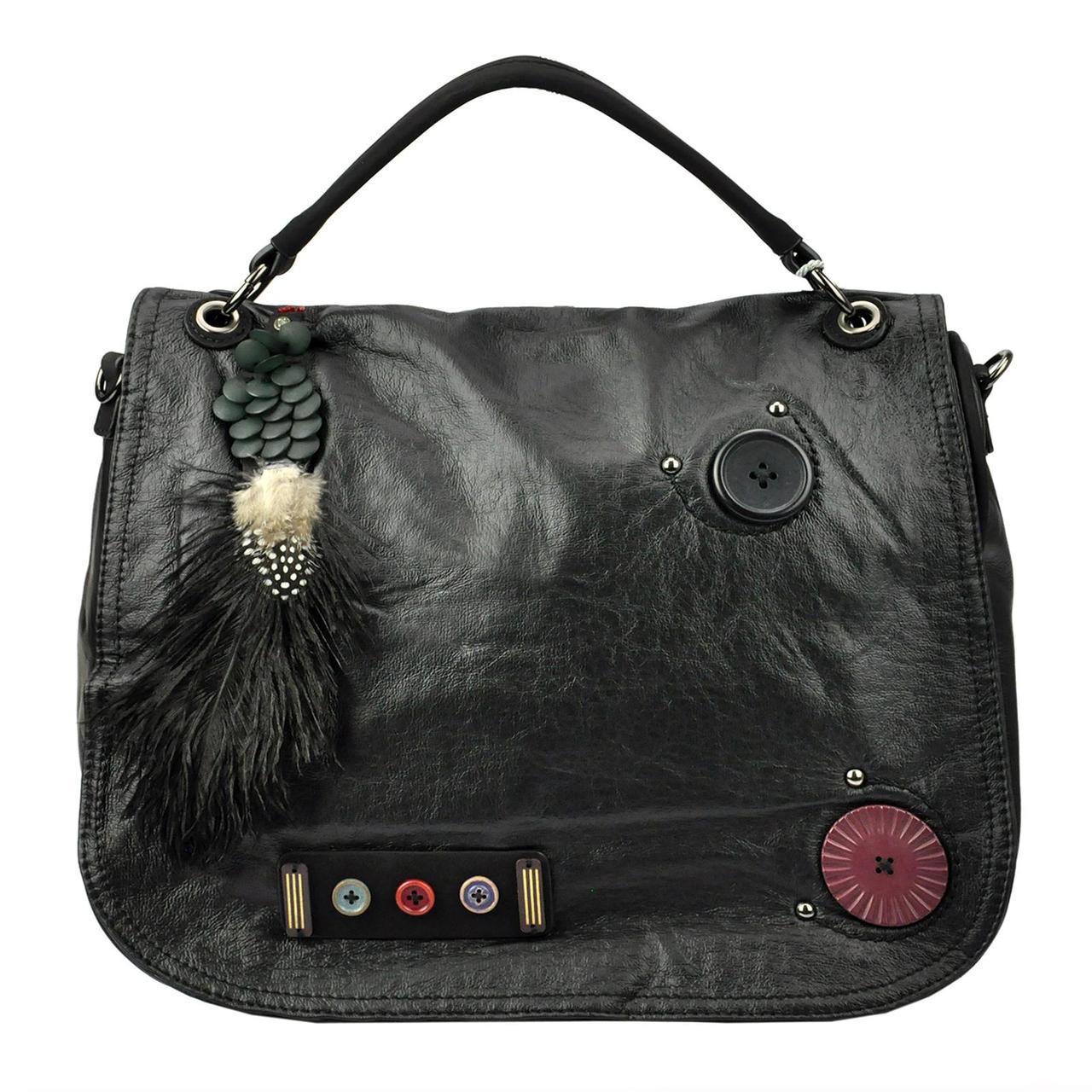 Жіноча сумка з екошкіри Gregorio TB-G19 Вишневий