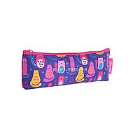 Пенал мягкий 1 Вересня Cute cats Разноцветный (532347)