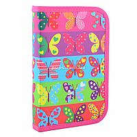 Пенал твердый Smart одинарный Butterfly Разноцветный (531654)