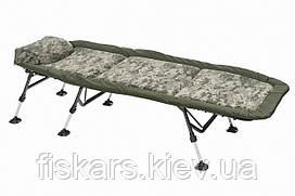 Ліжко коропова Mivardi CamoCODE Flat6 до 140 кг (M-BCHCC6)