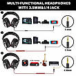 Навушники OneOdio Studio Pro 10 Black провідні професійні студійні навушники, фото 2