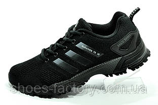 Кроссовки унисекс Adidas Marathon TR Black черные (Адидас)