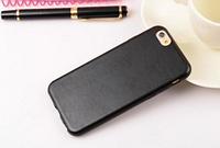 Черный кожаный силиконовый чехол для Iphone 6