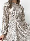 """Модное короткое молодежное повседневное платье с крестом на груди """"Jacqueline"""", фото 6"""