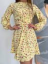 """Модное короткое молодежное повседневное платье с крестом на груди """"Jacqueline"""", фото 10"""
