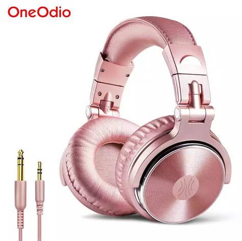 Наушники OneOdio Studio Pro 10 Pink проводные профессиональные студийные наушники, фото 2