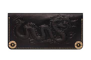 Кожаный женский кошелек Dragon