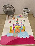 """Бесплатная доставка! С дефектом!Ковер в детскую  """"Замок принцессы"""" (1.5*2 м), фото 2"""