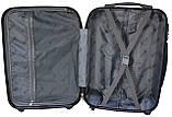 Валіза пластикова на 4х колесах міні   XS темно-сіра | 20х51х35 см | 2.400 кг | 27 л | FLY 91240, фото 10