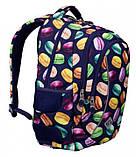 Рюкзак школьный ST.RIGHT BP26 MACARONS 39x27x17 см 20 л синий, фото 3