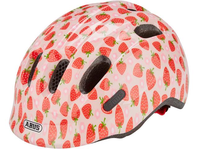 Велошлем детский ABUS Smiley 2.1 Rose Strawberry, M (50-55 см)