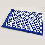 Масажний акупунктурний килимок міні | Масажер для всього тіла | Аплікатор Кузнєцова, фото 5