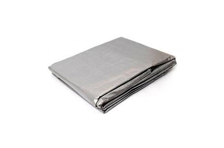 Тент Mastertool - 6 х 8 м 110 г/м², серый, фото 2