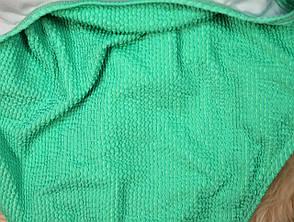 Купальник відрядний зелений жатка салатовий, фото 3