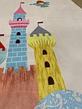 """Бесплатная доставка! С дефектом!Ковер в детскую  """"Замок принцессы"""" (1.5*2 м), фото 6"""