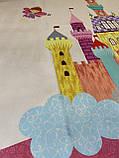 """Бесплатная доставка! С дефектом!Ковер в детскую  """"Замок принцессы"""" (1.5*2 м), фото 8"""