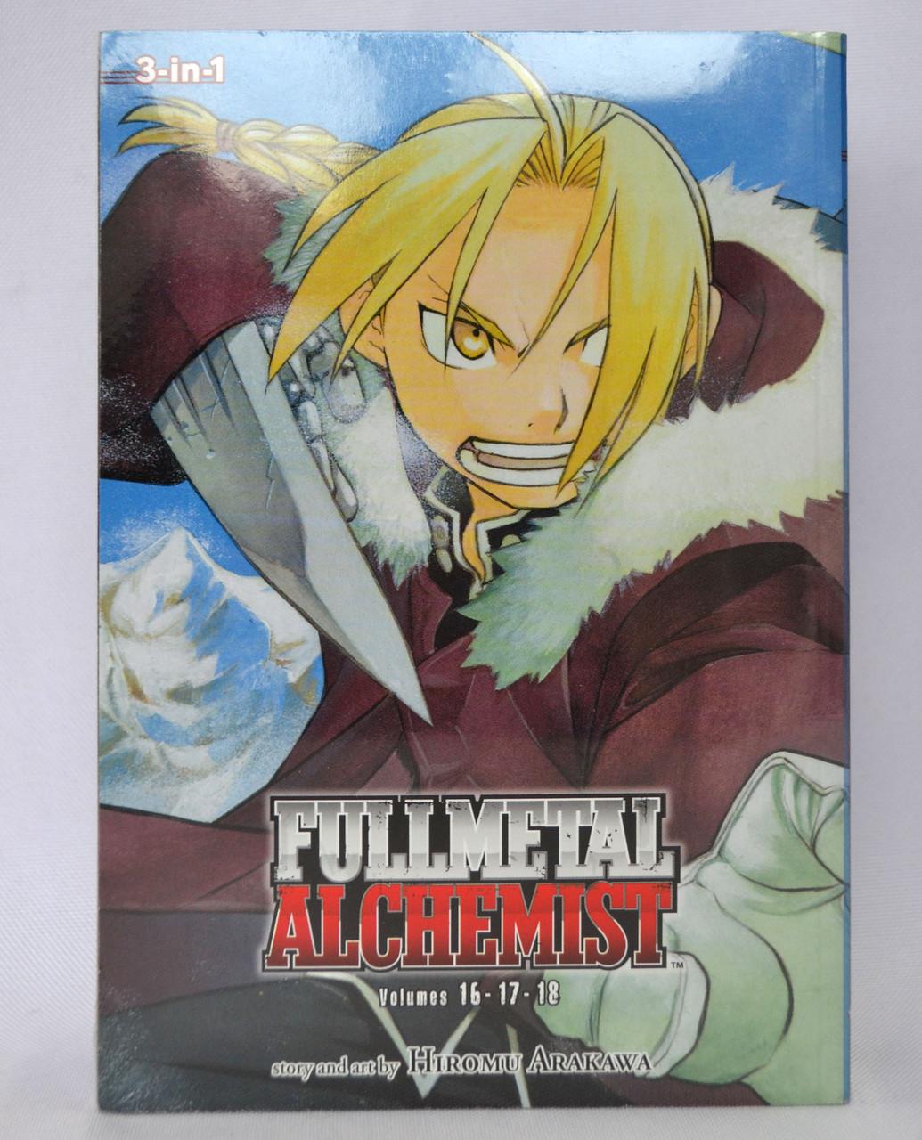 Manga Fullmetal Alchemist (3-in-1 Edition), Vol. 6 (English language)