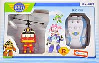 Робокар летающий на радиоуправлении Robocar Poli летающий вертолет Рой