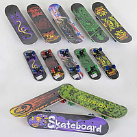 Скейт F 22224 (24) 8 видів, колесо d=5cm, PVC, довжина дошки=60см. Скейт F 22224 (24) 8 видов, колесо d=5cm,