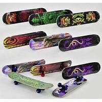 Скейт F 22224 (24) 8 видів, колесо d=5cm, PVC, довжина дошки=60см Скейт F 22224 (24) 8 видов, колесо d=5cm,