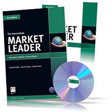 Market Leader Pre~Intermediate, CourseBook + Practice File + CD / Учебник + Тетрадь английского языка