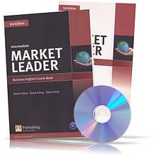 Market Leader Intermediate, CourseBook + Practice File + CD / Учебник + Тетрадь английского языка