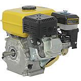 Двигатель бензиновый Кентавр ДВЗ-200Б  Двигатель на культиватор, генератор, мотопомпу., фото 2
